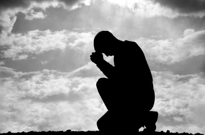 War in prayer